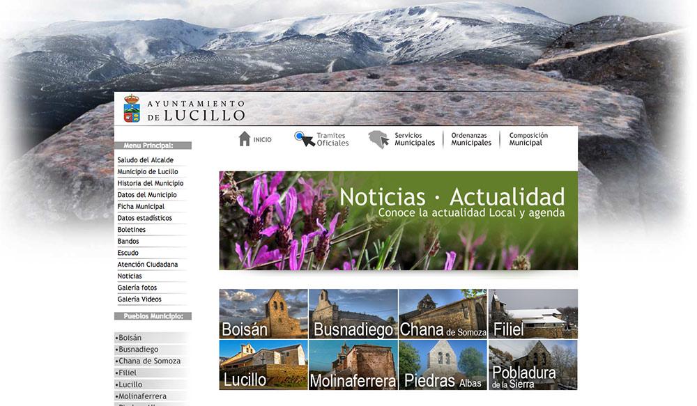 diseño de pagina web para ayuntamiento