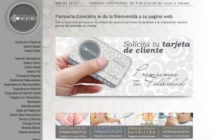 diseño pagina web para farmacia
