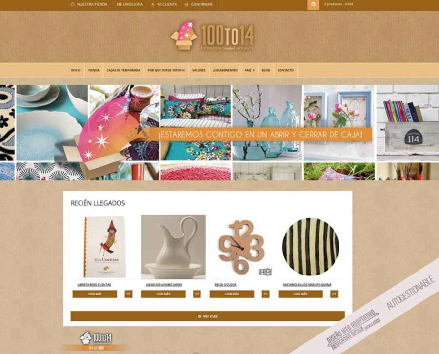 diseno de tienda online Zamora
