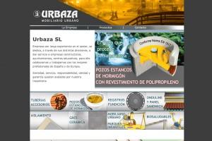pagina web para empresa de venta de mobiliario urbano