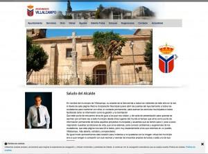 Página web responsive ayuntamientos