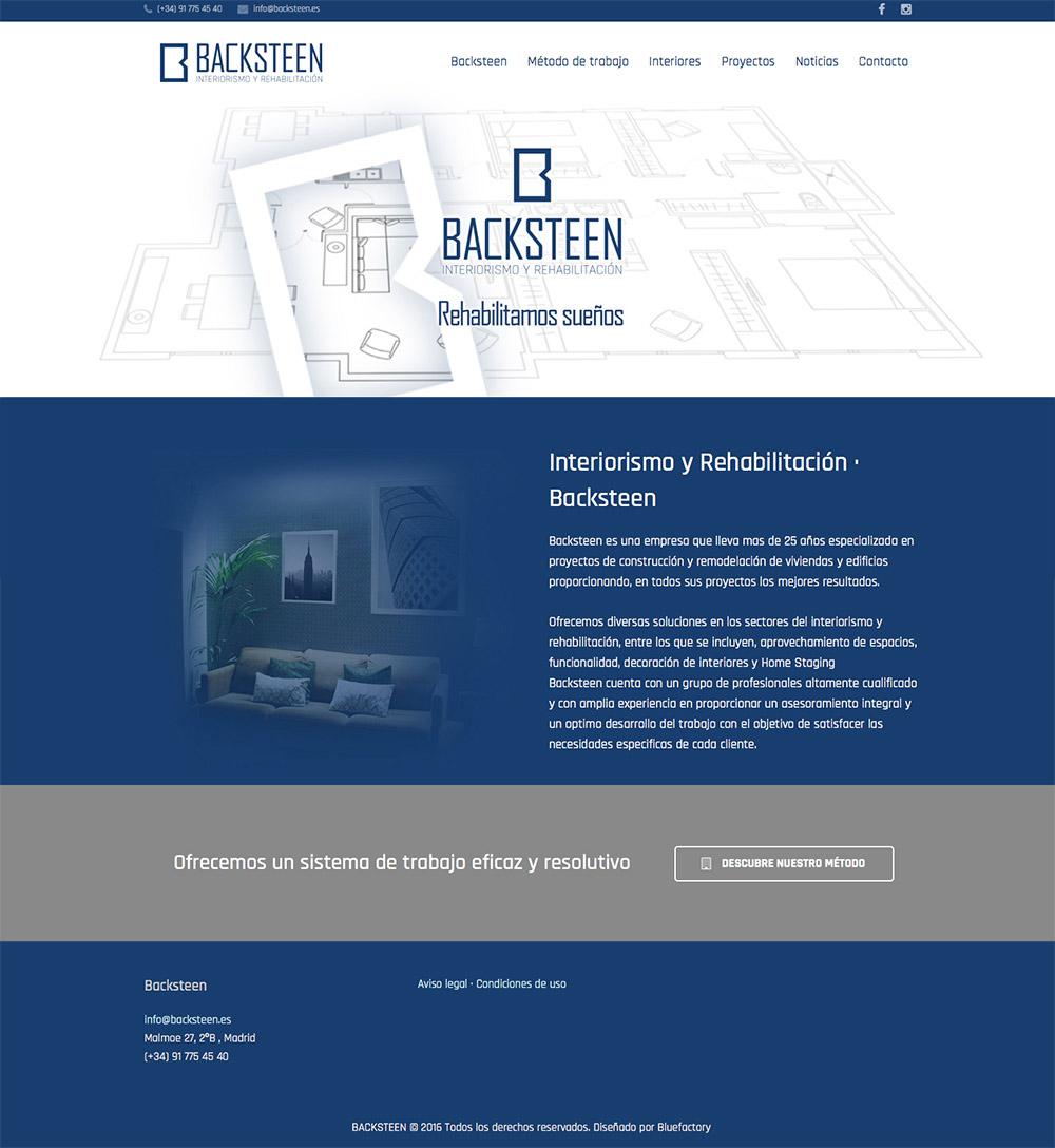 pagina web para interiorismo