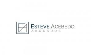 Imagen corporativa para despacho de abogados Esteve Acebedo