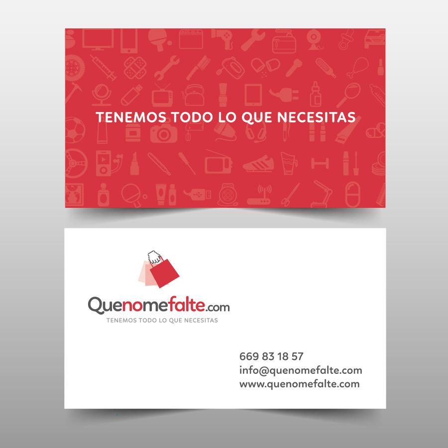 diseño de tarjetas coporativas para tienda online