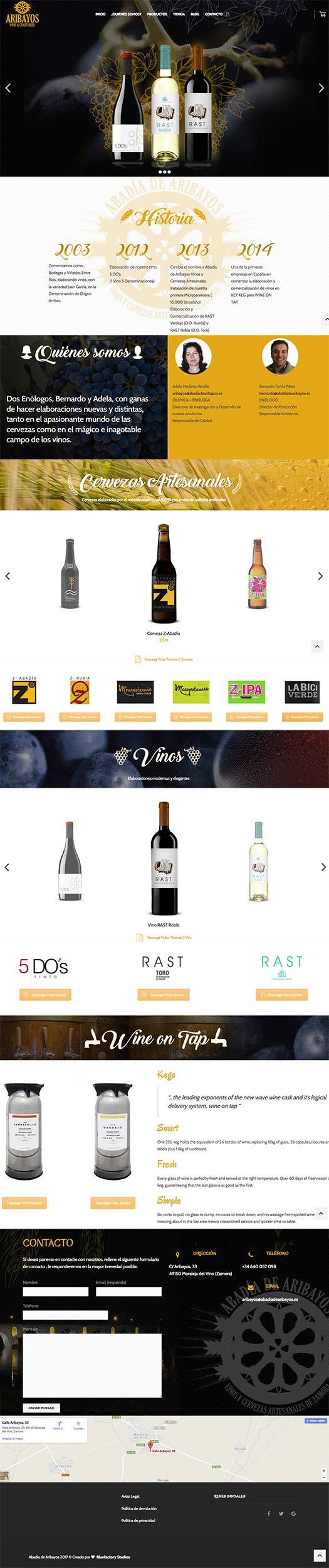 Tienda online bodega vino