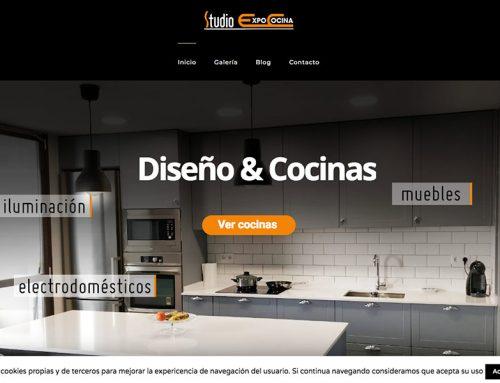 Diseño de página web para Expo Studio Cocina