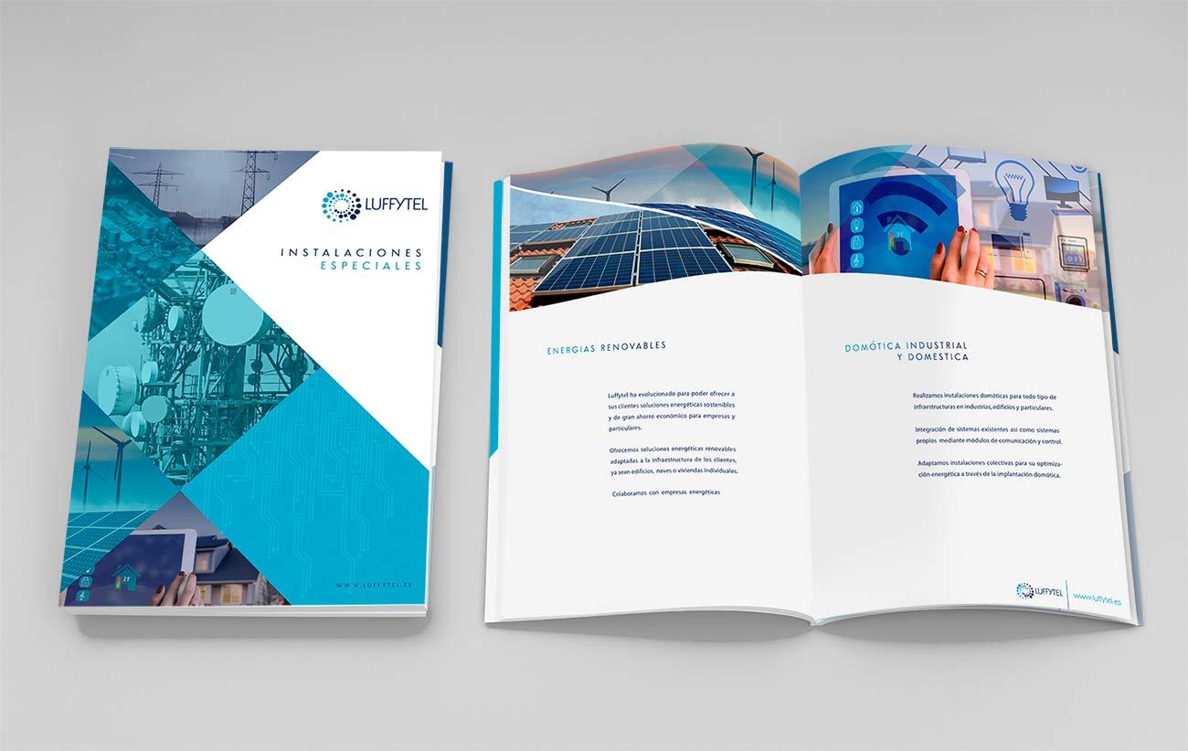 diseño de dossier corporativo para empresa