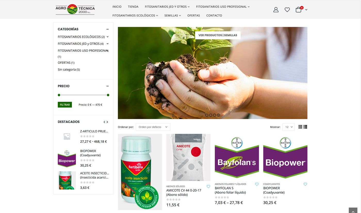 Tienda online Agrotecnica2000