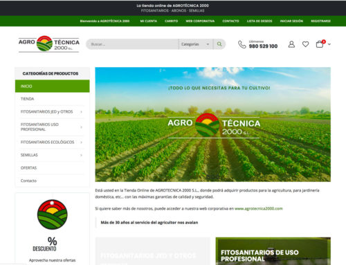Tienda online – Agrotecnica2000