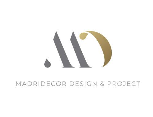 Imagen corporativa para Madridecor Design & Projet