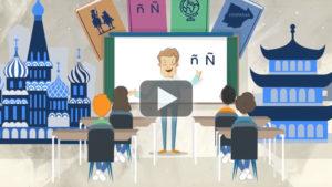 video animado para ministerio de educación