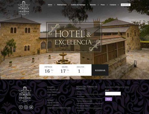 Página web para Hotel